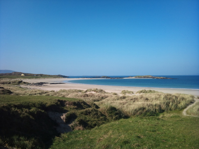 Rosroe and Glassilaun Beach