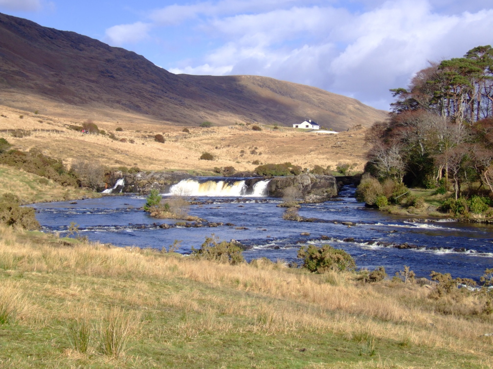 Ashleigh Falls and the Bundorragha and Erriff Rivers